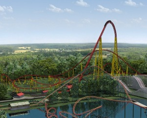 The Intimidator rollercoaster coming to Kings Dominion in 2010