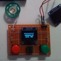 An ATTiny85 based handheld game